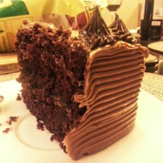 Chocolate Truffle Cake - Quezon City's Cafe Mary Grace (Quezon City)|Metro Manila