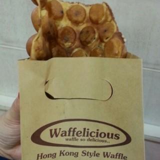 vanilla waffle choco cip - ในKelapa Gading จากร้านWaffelicious (Kelapa Gading)|Jakarta