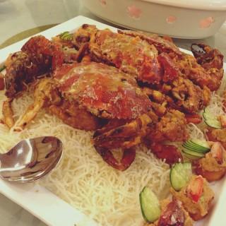 Salted Egg Crab - Serdang's Sam You Restaurant (Serdang) Klang Valley