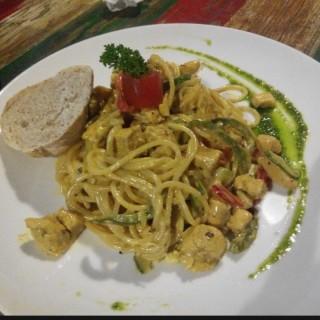 forgot the dish name -  dari Aglioo Pizza & Pasta (Prawirotaman) di Prawirotaman  Yogyakarta