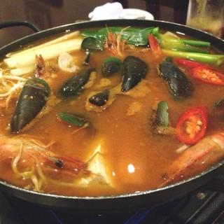 Haemul Jeonggol - North Lingkar's Silla Korean Chinese Restaurant (North Lingkar) Yogyakarta