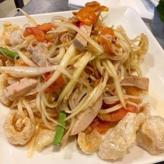 Mango salad - 位于ปทุมวัน的Somtam Nua (ปทุมวัน) | 曼谷