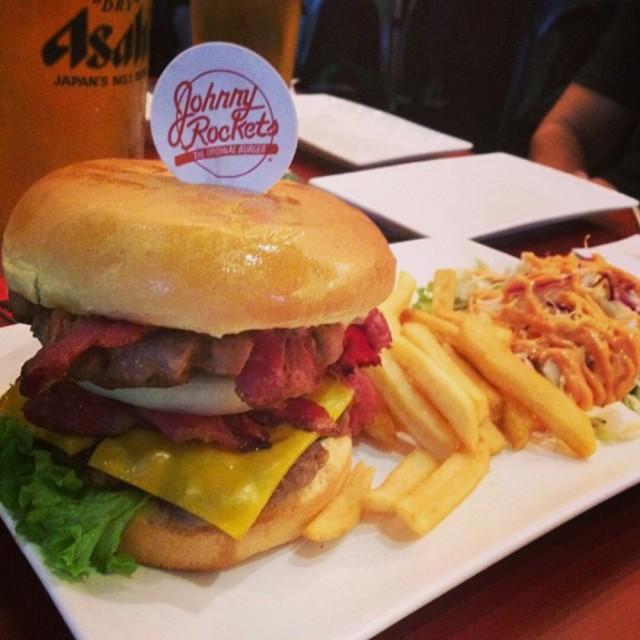 Beef Burger - Johnny Rockets - Restaurant - Bukit Bintang(武吉免登) - Klang Valley