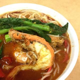 Prawn Noodles -  dari 囯成(球記)餐室 (Tanjong Pagar) di Tanjong Pagar |Singapura