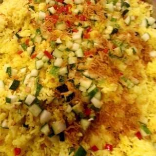 黄姜饭 - 位于Kepong(甲洞)的根發中西素食館 (Kepong(甲洞)) | 雪隆区