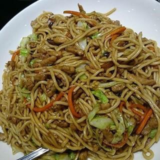 Shredded Pork Fried Noodles -  dari Tien Ma's Taiwanese Cuisine (La Loma) di La Loma |Metro Manila