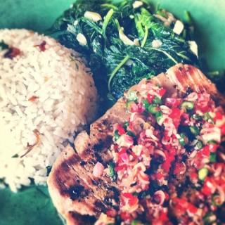 sambal fish matah - Ubud's Pissari Bali Cafe (Ubud) Bali
