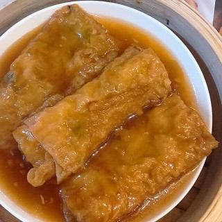 Beancurd Skin Roll with Pork and Shrimp -  dari Tim Ho Wan (North Avenue) di North Avenue |Metro Manila