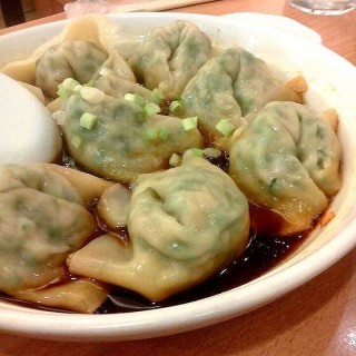 Dumplings in Hot Chili -  dari Luk Yuen (Ortigas) di Ortigas |Metro Manila