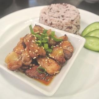 ข้าวไก่เทริยากิ -  dari Salad Terrace (ศรีภูมิ) di ศรีภูมิ |Chiang Mai
