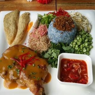 Nasi Kerabu -  dari Ten Years (Sri Petaling) di Sri Petaling |Klang Valley