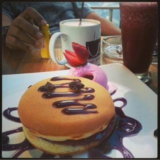 Chocololate Pancake - Riau's Kopi Progo (Riau)|Bandung