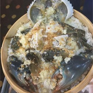 蒜蓉肉蟹蒸糯米飯 - 位於尖沙咀的潮福蒸氣石鍋 (尖沙咀) | 香港