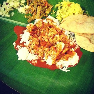 banana leaf rice - 's Lotus Curry House (Aman Suria)|Klang Valley