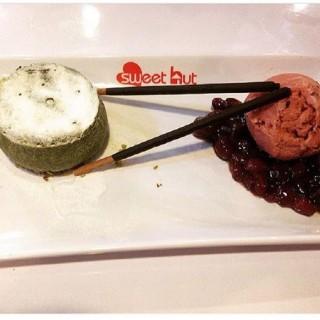 Lava Matcha With Ice Cream & Red Bean -  dari Sweet Hut (Slipi) di Slipi |Jakarta