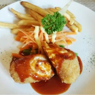 Chicken Cordon Bleu - Riau's Indischetafel (Riau) Bandung