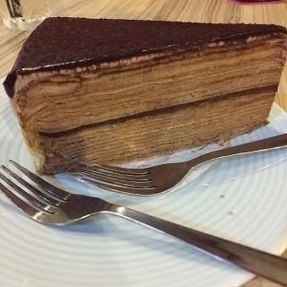 Chocolate Mille Crepe - Sri Petaling's Mon Boulangerie & Kitchen (Sri Petaling)|Klang Valley