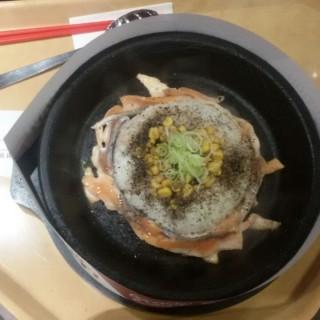 Salmon Pepper Rice - ใน จากร้านPepper Lunch (Thamrin)|Jakarta