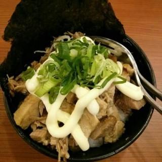 chashu mayo rice -   / Bariuma Ramen (Karet)|Jakarta