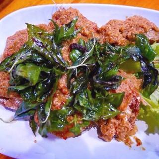 Fish cake - ในอ.บ้านไร่ จากร้านสวนอาหารครัวอนันต์ (อ.บ้านไร่)|จังหวัดอื่นๆ