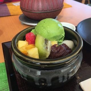 抺茶餅併啫哩雪糕 - 位於尖沙咀的中村藤吉 (尖沙咀)   香港