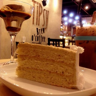 Affogato black sesame hazelnut chocolate yam cake -  Puchong Town Center / Tipsy Brew O' Coffee (Puchong Town Center)|Klang Valley