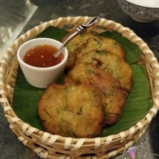 Pan Fried Thai style homemade fish cakes (5pcs) - Taman Tun Dr Ismail's VietThai (Taman Tun Dr Ismail)|Klang Valley