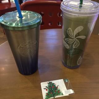 Greentea Latte - Bang Na's Starbucks Coffee (สตาร์บัคส์) (Bang Na)|Bangkok