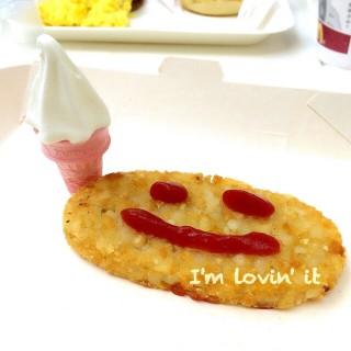 Happy Breakfast with mini cone - 位于蓝田的麥當勞 (蓝田)   香港