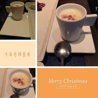 卡布奇諾蒸蛋 -  dari 夏慕尼新香榭鐵板燒 台中大隆店 (西區) di 西區 |Taichung