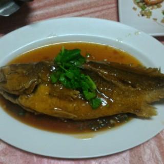紅燒黃魚 -  布袋鎮 / 英賓海產店 (布袋鎮)|雲林/嘉義