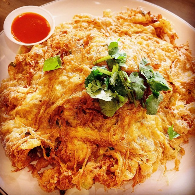 Fried Omelette with Minced Pork - Ah Loy Thai - Restaurant - 武吉士 - Singapore