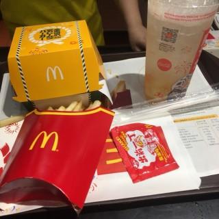 金澤風味黑咖哩吉列豬扒漢堡 - 位於的麥當勞 (將軍澳) | 香港