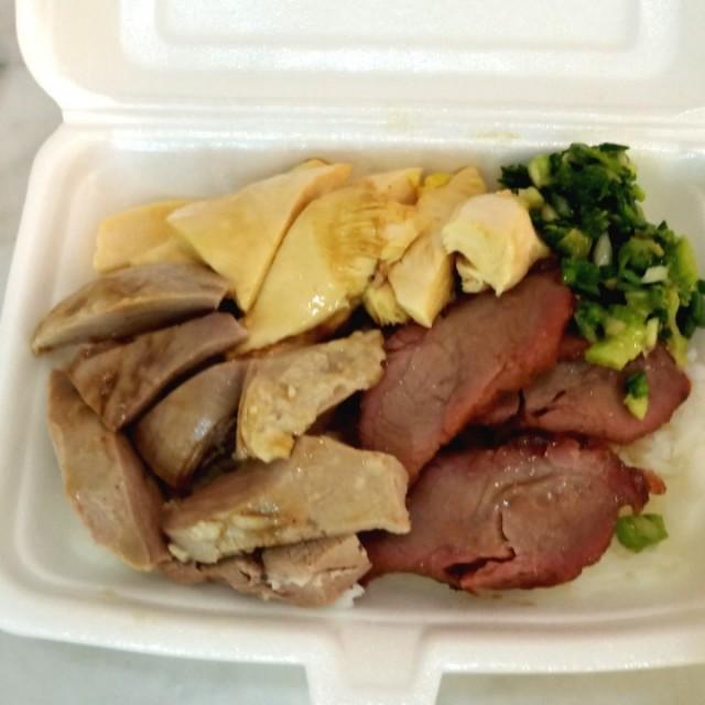 叉燒、切雞、燒鴨飯(去皮) - 嘉豪酒家 - 粵菜 (廣東) - 香港仔 - 香港