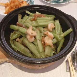 三蝦啫啫蕹菜梗 - 位於沙田的翠園 (沙田) | 香港