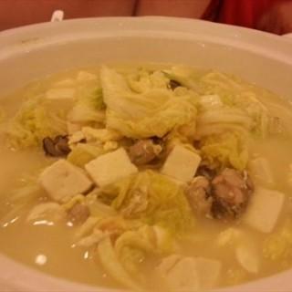 花蛤白菜炖豆腐 - 位於五道口的阿俊酒家 (五道口) | 北京