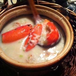 龙虾鲍鱼粥 - 位於小白楼 的潮你妹潮汕砂锅粥 (小白楼 ) | 天津