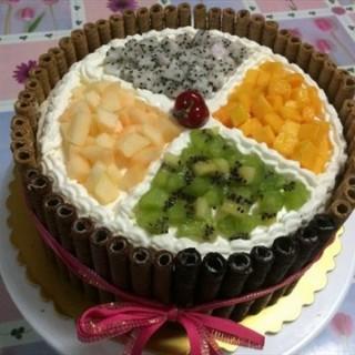 水果缤纷生日蛋糕 - 位于五道口的喜和乐蛋糕房 (五道口) | 北京