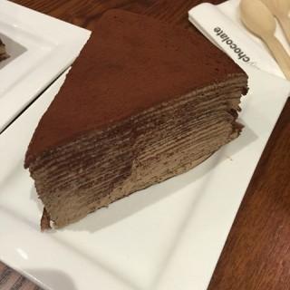 千层黑巧蛋糕 - zhongguancun's ESQUIRES COFFEE (zhongguancun)|Beijing