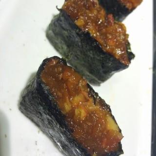 辣章鱼寿司 - ใน杨家坪 จากร้าน禾绿回转寿司 (杨家坪)|Chongqing