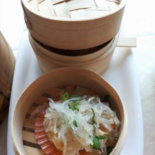 山泉公馆——金蒜蒸黄金贝烧卖 - tianhequ's 山泉公馆(龙口西店) (tianhequ)|Guangzhou