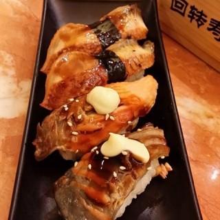 鳗鱼寿司鱼皮寿司 - kecun's 万岁寿司 (kecun)|Guangzhou