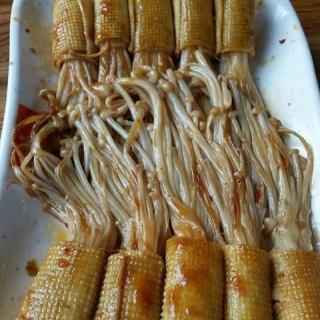 烤豆皮金针菇 - 位于劲松/潘家园的管氏翅吧 (劲松/潘家园) | 北京