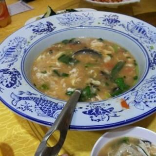 香菜鸡蛋汤 - guangzhoudongzhan's 山西面馆 (guangzhoudongzhan)|Guangzhou