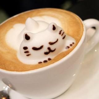 3D立體拉花咖啡 - ใน新蒲崗 จากร้านKarena Cafe (新蒲崗)|ฮ่องกง