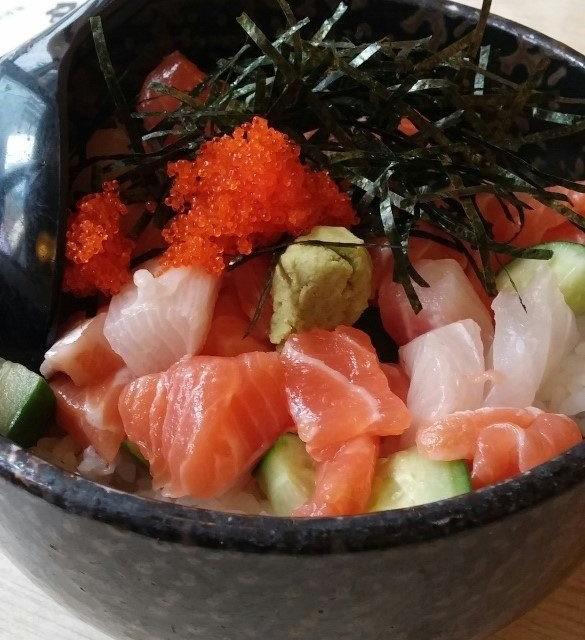 角切魚生飯 - 一休(居食屋)日本料理 - 拉麵 - 旺角 - 香港
