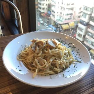 蟹肉忌廉芝士意大利粉 - 位於深水埗的夢咖啡館 (深水埗) | 香港