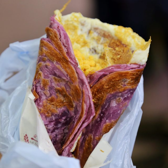 紫薯手抓餅 - ในSai Wan Ho จากร้าน艾·蜜思手抓餅|Taiwanese Drink - ฮ่องกง