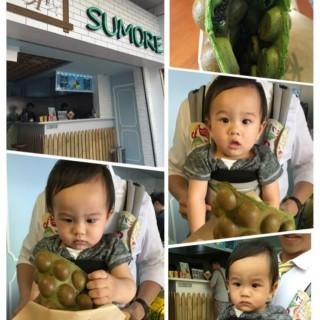 綠茶Oreo雞蛋仔 - 位於元朗的森 (元朗) | 香港