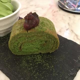 宇治抹茶卷蛋 - 位於銅鑼灣的小甜谷 Dessert Kaffee (銅鑼灣) | 香港